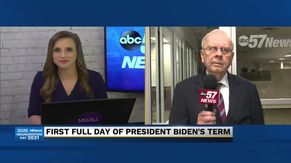 Jack Colwell on the post-Inauguration Day overview of the Biden...
